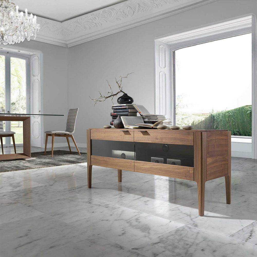 mueble tv confort de angel cerd inhausdeco. Black Bedroom Furniture Sets. Home Design Ideas